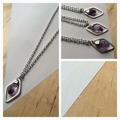 raw amethyst Raw Amethyst, Archive, Chain, Jewelry, Jewlery, Bijoux, Jewerly, Jewelery, Chain Drive