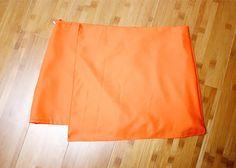 these days: diy asymmetrical hem skirt