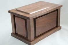 Free Wood Cremation Urn Box Plans Build It In 2018