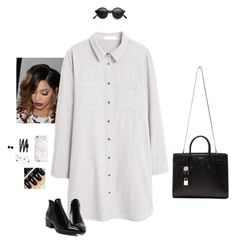 """""""Fashion Week ~ #LOC Winner Announcement!"""" by hanakdudley ❤ liked on Polyvore featuring MANGO, Yves Saint Laurent, Chanel, Karen Kane, women's clothing, women's fashion, women, female, woman and misses"""