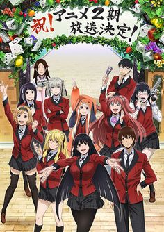Of the animated adaptation of the high stakes high school gambling manga written by homura kawamoto and illustrated by toru naomura has been announced. Manga Anime, Otaku Anime, Anime Amor, Image Clipart, Art Clipart, Poster Anime, Animes Yandere, Couples Anime, Arte Fashion