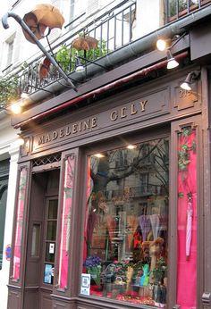Madeleine Gely, Paris - parasol shop