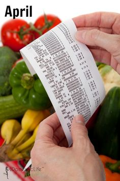 April Grocery Sales Cycles: Shop according to these secret cycles and save #groceries