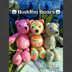 Crochet Patterns Galore - Buddha Bears