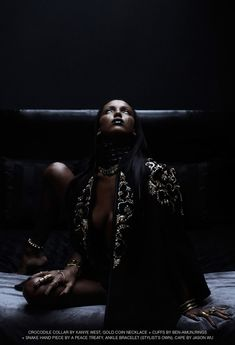 Jasmine Tookes | Tetsuharu Kubota | Lurve Fall 2012 | In A State Of Grace - 3 Sensual Fashion Editorials | Art Exhibits