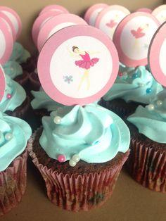 Bailarinas cupcakes