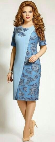 ✔ Simple Dresses, Pretty Dresses, Plus Size Dresses, Dress Batik Kombinasi, Evening Dresses, Formal Dresses, Emo Dresses, Batik Dress, Dress Brokat