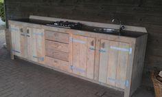 Standaard Steigerhouten Buitenkeukens