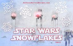 Well, Target Already Has Their Christmas Stuff Out: New Star Wars Paper Snowflake Designs