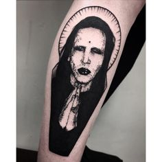 Don't pray for me 🙏🏻Marilyn Manson for Smoke Tattoo, Goth Tattoo, Tattoo Now, Dark Tattoo, Marilyn Manson Tattoo, Marilyn Manson Art, Tattoo Sketches, Tattoo Drawings, Body Tattoos