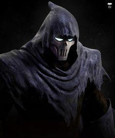 Batman Fan Art, Gotham Batman, Batman Phantasm, Bat Joker, Ghost Face Mask, Batman Pictures, Joker Dc Comics, Dungeons And Dragons Art, Batman Mask