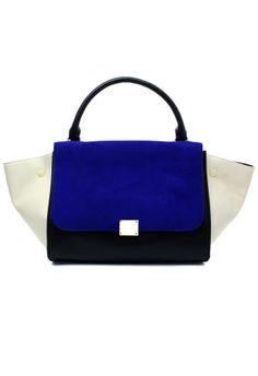 Okay so everybody and their mom either has this bag or the other really popular Celine shape so I could definitely do without but I'm a sucker for blue and white, so, sacrifices.