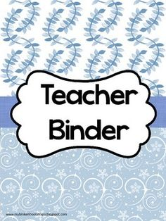 Limited Time Upgrade! When you purchase your binder, simply leave a message in the ratings section with your email address and how you would like to personalize your binder. I will add your name, school name, or a special divider to make it more personal and the fonts will match!
