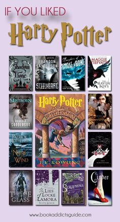 If you grew up loving Harry Potter and are looking for some new books to fall in love with, check out this list of 12 books for Harry Potter fans to read! Ya Books, I Love Books, Good Books, Books To Read In Your Teens, Book Suggestions, Book Recommendations, Book Quotes Love, Fantasy Magic, Children's Fantasy Books