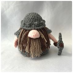 Dwarf Gonk - free add on outfit pattern by Ling Ryan / Hooked On Patterns - A Gonk's Journey