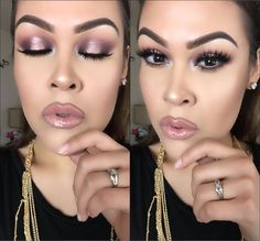 MANNYMUA X MAKEUPGEEK PALETTE ┃Halo Eyes Tutorial