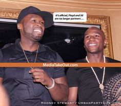 FRIENDS AGAIN???? 50 Cent Goes ON THE RADIO . . . Explains That Floyd Mayweather CAN READ . . . And Suggests That They'll Be COOL AGAIN SOON!!!