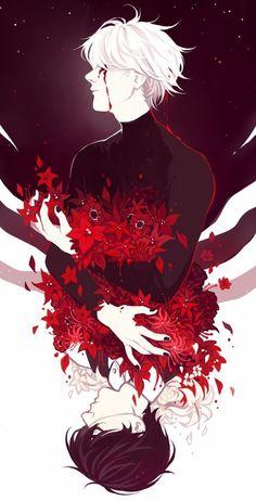 Kaneki Ken ⬆️ Ghoul | | ⬇️ Human ~Dan