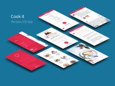 iOS Recipes App UI Kit