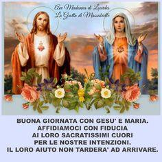 Photo: <3 Ave Madonna di Lourdes La Grotta di Massabielle <3 Lieta giornata a tutti.