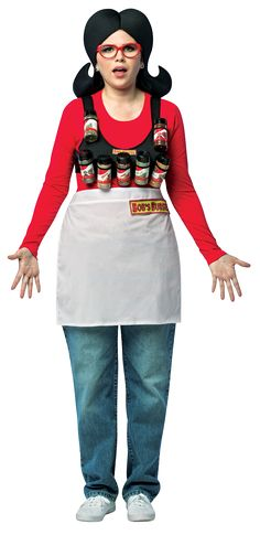 official licensed bobs burgers linda spice rack costume by rasta imposta costumes