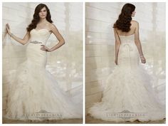 Whimsical Fit and Flare Sweetheart Wedding Dresses with Tiered Layeres   Skirt http://www.ckdress.info/whimsical-fit-and-flare-sweetheart-wedding-  dresses-with-tiered-layeres-skirt-p-500.html  #wedding #dresses #dress #lightindream #lightindreaming #wed #clothing   #gown #weddingdresses #dressesonline #dressonline #bride