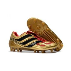 High Quality Cheap Adidas Predator Precision FG Football Boots Golden Black Red Adidas Soccer Shoes With Cheap Pirce Sale Online Adidas Soccer Shoes, Soccer Boots, Adidas Football, Men's Football, Football Trainers, Adidas Predator, Cheap Football Boots, Football Shoes, Adidas Samba