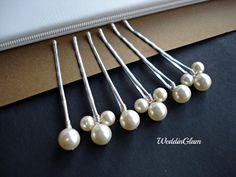 Wedding hair clips Bridal Hair Accessories Swarovski by WeddinGlam, $16.00