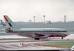 """City of Newport News"" wears the ""Friendship"" colour scheme. - Photo taken at Atlanta - Hartsfield-Jackson Int (The William B Hartsfield / Municipal / Candler Field) (ATL / KATL) in Georgia, USA on October Boeing 727, Boeing Aircraft, Passenger Aircraft, Air Photo, Commercial Aircraft, United Airlines, Civil Aviation, Aircraft Pictures, Air Travel"