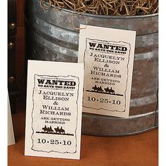 Save the Date Cards--Wanted! - Save the Date Magnet   Invitations By Dawn