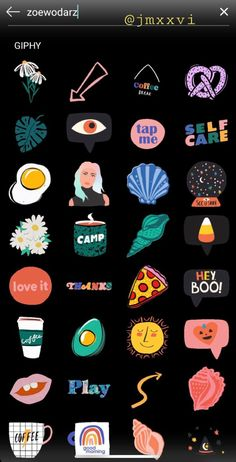 Retro Instagram, Instagram Emoji, Instagram And Snapchat, Creative Instagram Photo Ideas, Instagram Story Ideas, Snapchat Stickers, Insta Story, Ig Story, Spam