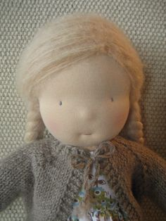 Waldorf Doll. -  she is beautiful!