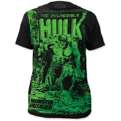 The Incredible Hulk - Camiseta - para hombre #camiseta #starwars #marvel #gift