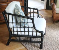 Shine Your Light: The Bamboo Chair Makeover