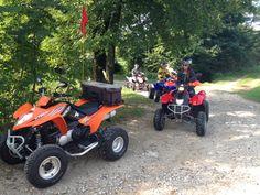 Escursione di gruppo in quad in provincia di Treviso