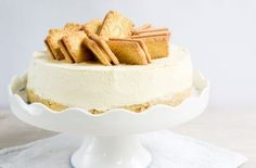No-bake Custard Cream cheesecake