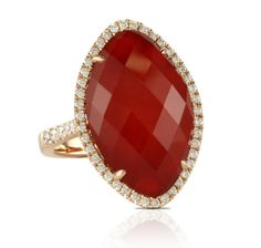 ruby red ring from the Crimson Couture collection