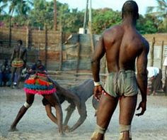 Laamb  Senegalese wrestling (fr. Lutte sénégalaise, Wolof Laamb) is a type of Folk wrestling traditional to Senegal and parts of The Gambia, and is part of a larger West African form of traditional wrestling
