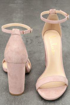 Taylor Blush Suede Ankle Strap Heels Blush Heels, Suede Heels, Jeans Heels, Blush Pink Shoes, Gold Heels, Stiletto Heels, Ankle Strap Heels, Ankle Straps, Teacher Shoes