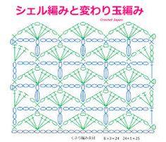 Αποτέλεσμα εικόνας για Crochet Patterns かぎ針編みの編み図