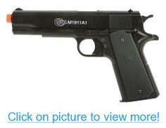Soft Air Colt Spring Pistol with Metal Slide (Black)
