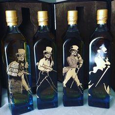 Struding Man Set UK Edition Whiskey Drinks, Scotch Whiskey, Bourbon Whiskey, Whisky, Rum Bottle, Liquor Bottles, Whiskey Bottle, Man Set, Nerd Stuff