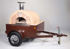 pizza oven on trailer - Google Search