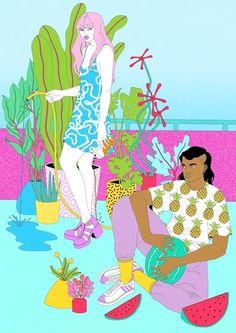 Urban Outfitters - Laura Callaghan Illustration