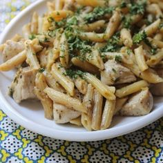 Chicken Piccata Pasta.