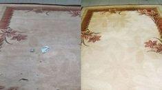 Cum să-ţi cureţi covoarele eficient cu o soluţie făcută... Cleaning, Rugs, Painting, Home Decor, Pandora, Cottages, Shake, Dyi, Health