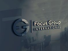 Logo // Focus Group // Financial Services on Behance