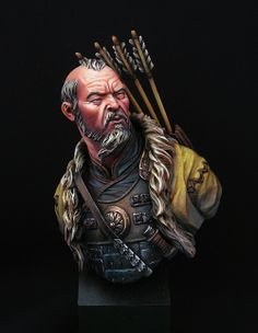 Mongol Warrior. by Basajaun · Putty&Paint