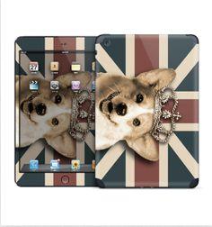 Royal corgi iPad skin for iPad Mini/Retina iPad 2nd by MimoCadeaux, $50.00