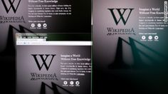 Websites go dark to highlight protest    Wikipedia and several websites shut down at midnight in protest of anti-piracy bills that critics say could amount to censorship.